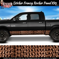 Rusty Chains Rocker Panel Decal Set