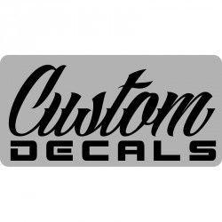Custom Vinyl Decals - For Cars, Windows, Walls