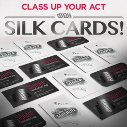 16pt SILK Full Color Business Cards