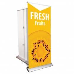"Retractable Banners - 33"" x 81"""