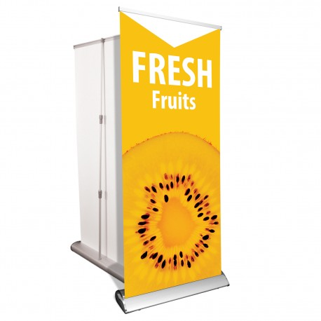 """Retractable Banners - 33"""" x 81"""""""