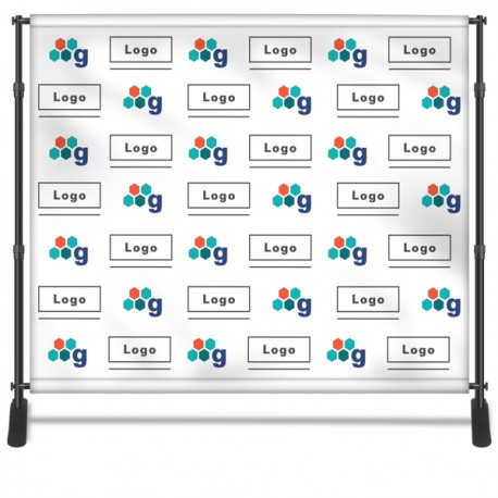 Step Repeat Backdrop Banner