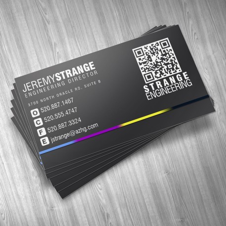 Premium full color business cards reheart Gallery